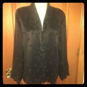 Vintage Bloomingdales silk blouse